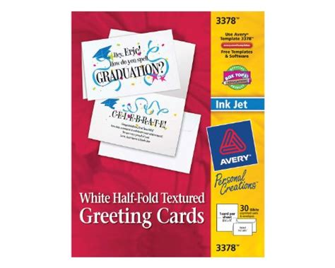 office depot half fold greeting card template avery half fold greeting cards for inkjet printers 5 5