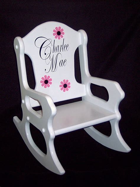 personalized childrens furniture childs rocking chair personalized