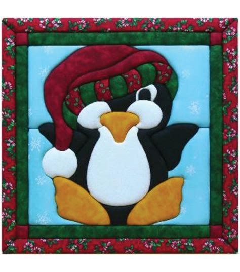 penguin quilt magic kit 12 quot x12 quot jo