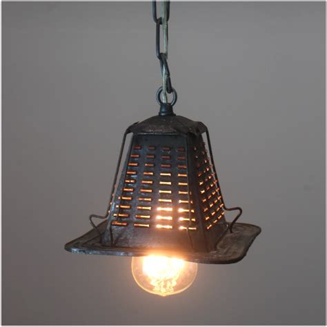 tin lighting fixtures antique tin metal four slice toaster pendant ceiling light fixture real vintage the bay