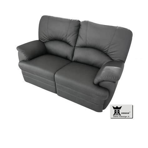 divani relax elettrici divano relax motorizzato con 2 recliner ecopelle della