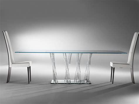 reflex tavoli in cristallo i nuovi tavoli in cristallo di reflex