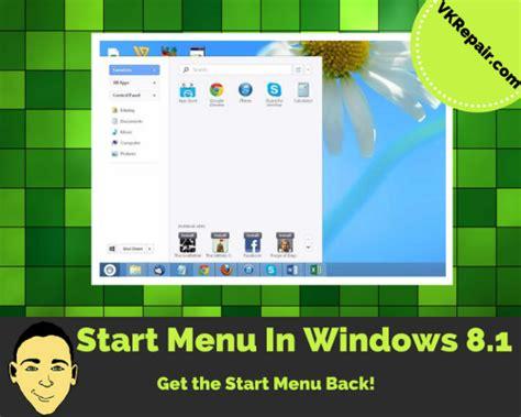 tutorial video windows 8 1 how to enable the start menu in windows 8 1 tutorial
