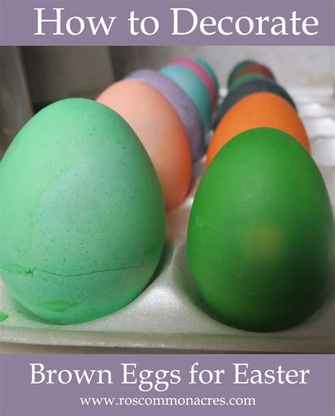 how to decorate eggs how to decorate brown eggs for easter life led homeschool