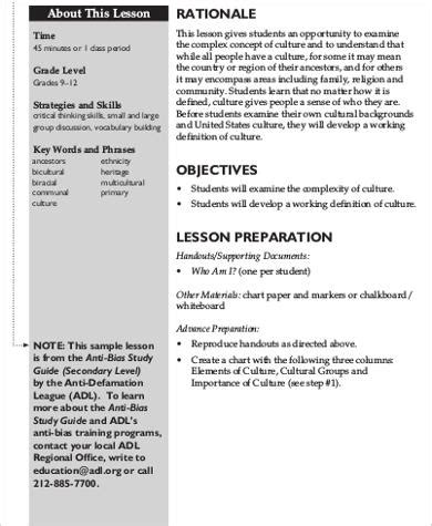 lesson plan objectives 6 sle lesson plan objectives sle templates