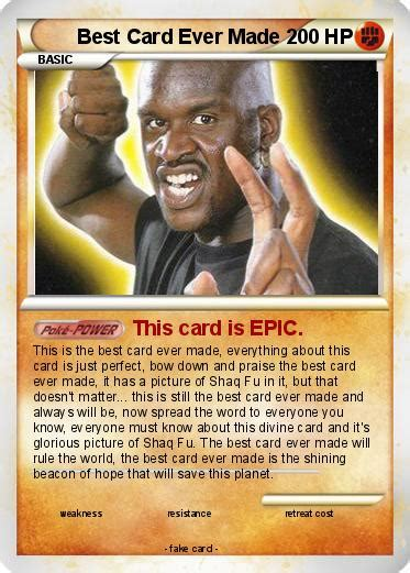 best card pok 233 mon best card made this card is epic my