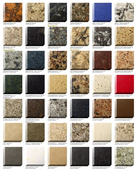 Countertop Colors 22 Best Images About Quartz Countertops On