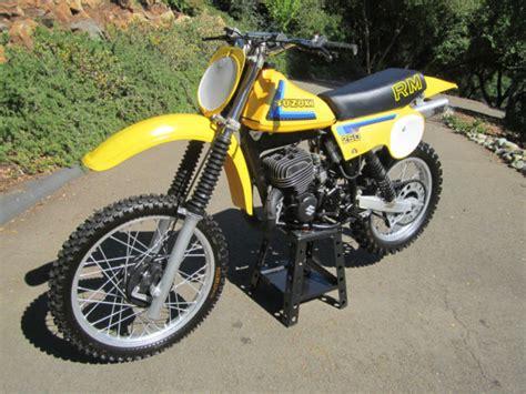 Suzuki Dirt Bike Prices 1979 Suzuki Rm250 Dirt Bike Motorcycle Ahrma New Tires