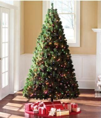 holiday time pre lit 65 madison pine white artificial christmas tree clear lights spruce artificial tree save 20 retail