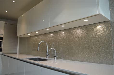 glass splashbacks deep silver premium glass splashbacks creoglass