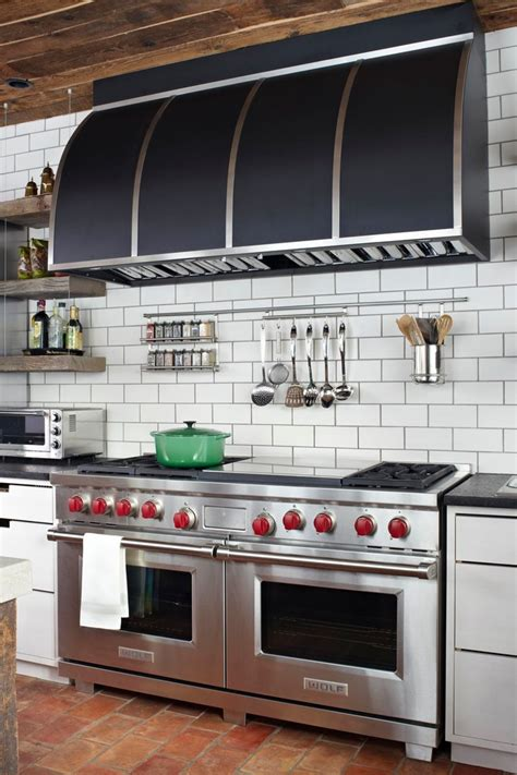 Wolf Kitchen Cabinets side by side double oven range kitchen modern with
