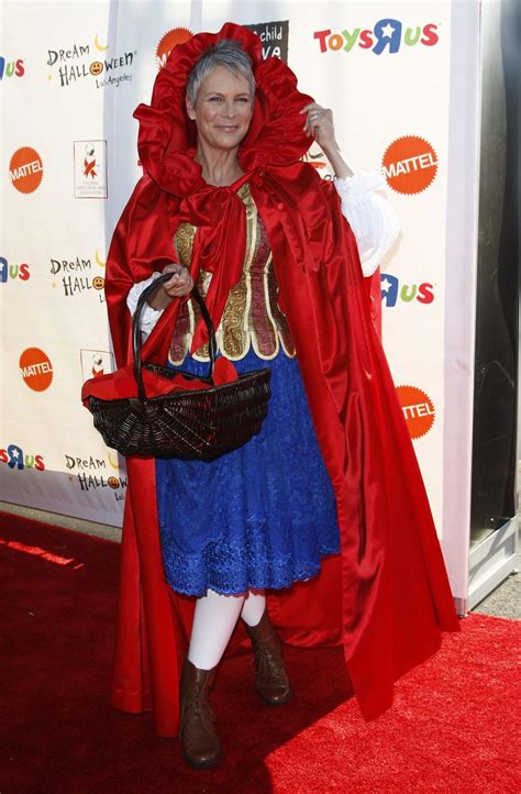 jamie lee curtis red suit the 13 best celebrity halloween costumes ever page 3