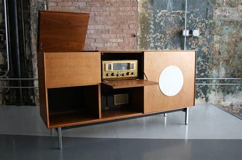 retro hi fi cabinet mid century modern freak 1950s rare teak hi fi cabinet