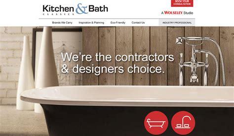 Wolseley Kitchen And Bath by Kitchen Bath Classics Website Copp Marketing Design