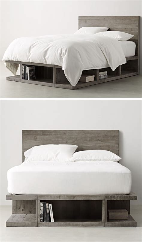 ideas    bed storage contemporist