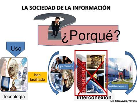 la sociedad de la sociedad de la informacion y herramientas tics