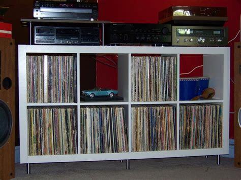 ikea stereo cabinet hack retro 60 s expedit stereo corner ikea hackers ikea hackers
