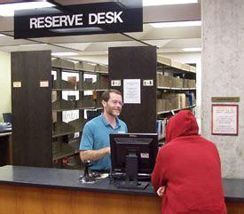 Library Reserve Desk by Reserve Desk Library Luther College