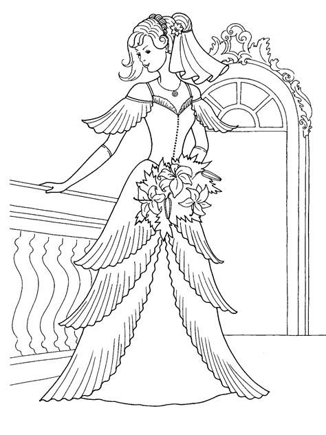 coloring pages of princess dresses princess pictures coloring pages coloring pages