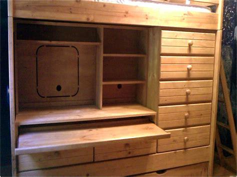 bed and desk combo bunk bed desk dresser combo home design remodeling ideas