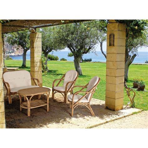 divanetto in rattan divanetto in rattan con cuscini mobili provenzali giardino