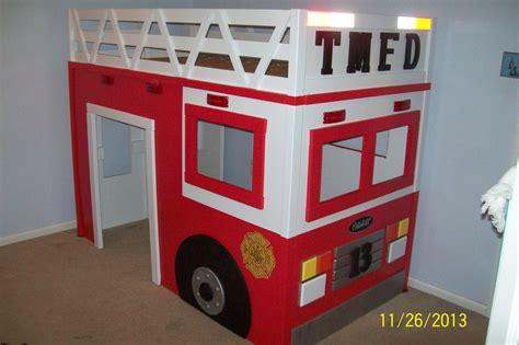 fire truck loft bed ana white firetruck loft bed diy projects
