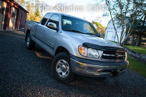 Toyota Tundra For Sale In Maine Purchase Used 2001 Toyota Tundra Sr5 Truck Well