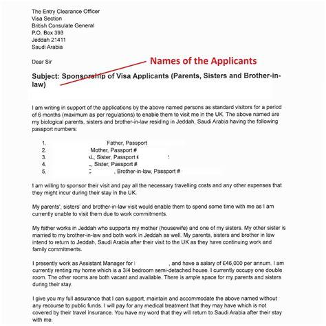 company invitation letter visa application