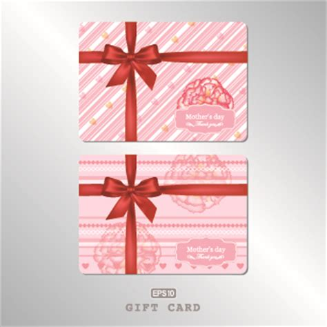 Free Pink Gift Cards - pink gift card vector 04 vector card free download