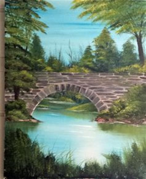 bob ross painting bridge 1000 images about my painting bob ross and other types