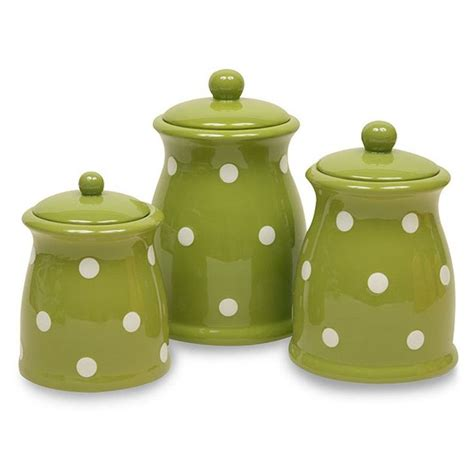 green kitchen canisters no longer available through amazon but found them by