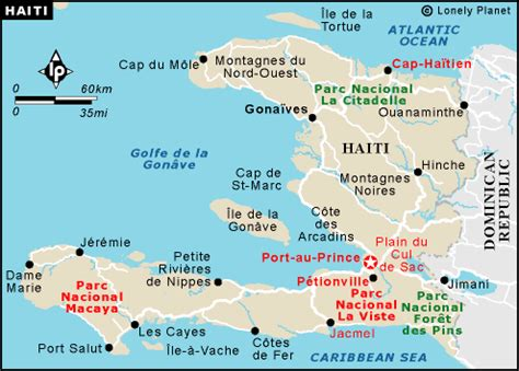 map of haiti cities ath 175 peoples of the world