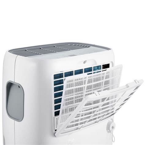 new dimplex 25l portable dehumidifier with electronic controls display gdde25e dimplex
