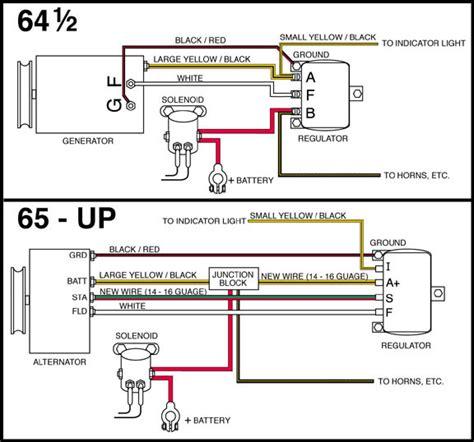 alternator wiring  mustang  mustang