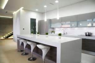 White Island Kitchen by 15 Contemporary Kitchen Designs That Will Rock Your