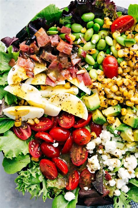 Simple Side Salad With Herbs Chagne Vinaigrette by Cobb Salad With An Herb Vinaigrette Chelsea S Apron