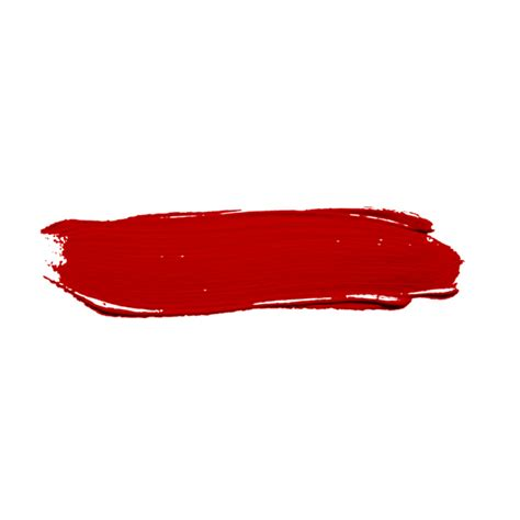 red paint red paint stroke png