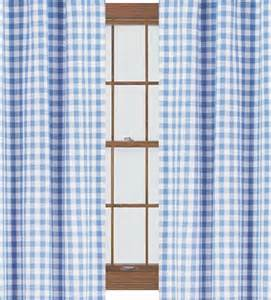 72 in curtains blue gingham curtains 66 x 72 inch
