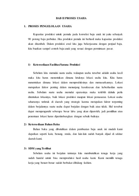 contoh proposal membuat usaha distro contoh proposal usaha fashion