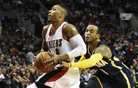 west coast swing portland pacers begin west coast swing in portland indiana still