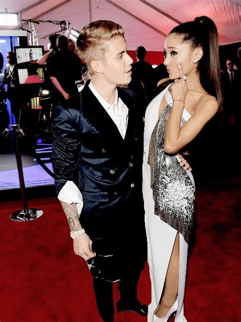 justin bieber on grammys 2013 justin and ariana at the 2015 grammys image 2544967 by