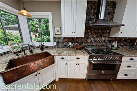 copper sink in kitchen with stainless steel appliances copper kitchen appliances kitchens with white appliances