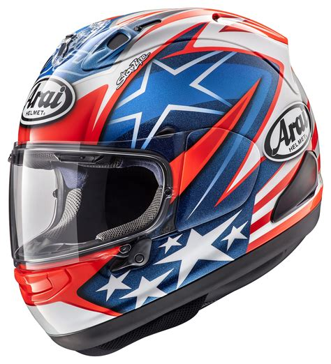 Helm Arai Rx7x Spencher 30th White arai corsair x nakano helmet cycle gear