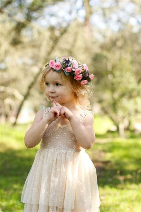 Forest Colorful Flower Crown baby flower crown headband flower crown headband