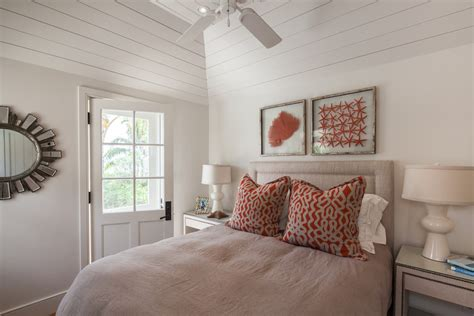 inspired faux coral  toronto beach style bedroom