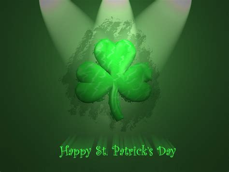 Free Download St Patrick S Day Powerpoint Backgrounds Ppt Garden St S Day Powerpoint Templates