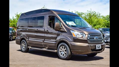 Ford Conversion Vans by 2016 Ford Transit T 150 Explorer Conversion Walkaround