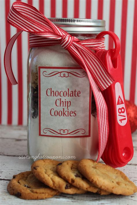 printable cookie jar recipes chocolate chip jar