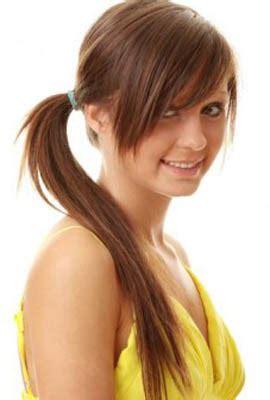 tutorial rambut panjang poni model rambut untuk wajah bulat wanita panjang dan pendek