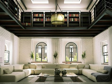 interni loft duesudue portfolio rendering interno loft